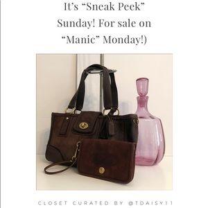 "It's ""Sneak Peak"" Sunday! (For Sale on Manic Mon!)"